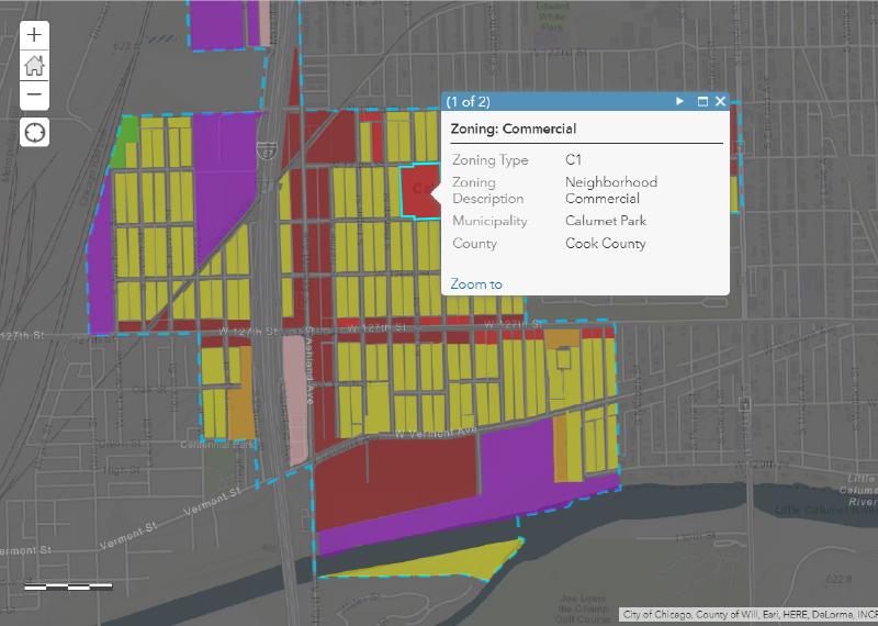 Zoning Ordinance Update + ArcGIS WebMap - Calumet Park ...